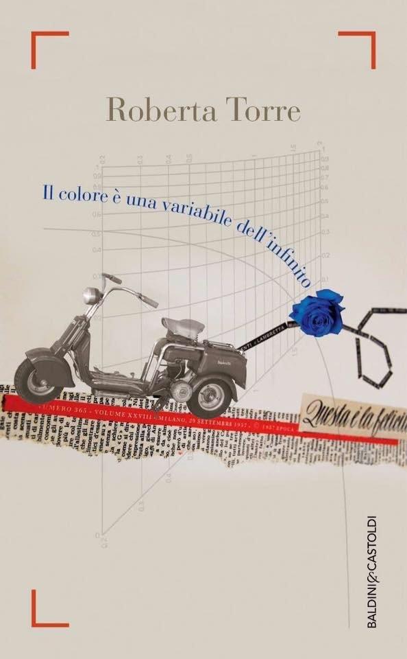 Il colore è una variabile dell'infinito copertina del libro di Roberta Torre