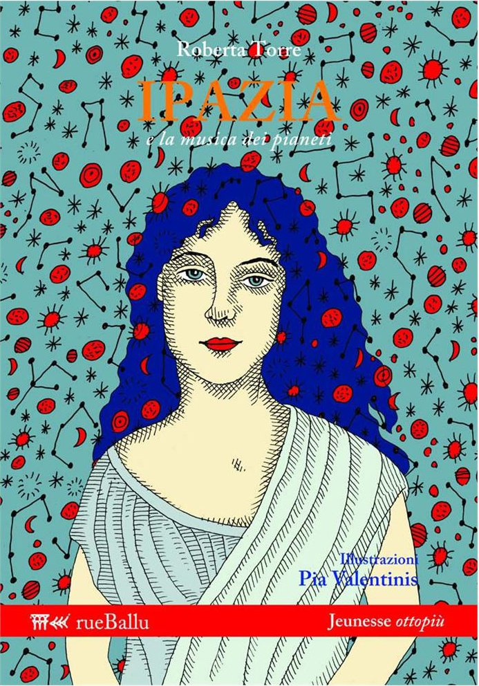 copertina Ipazia romanzo di ROberta Torre